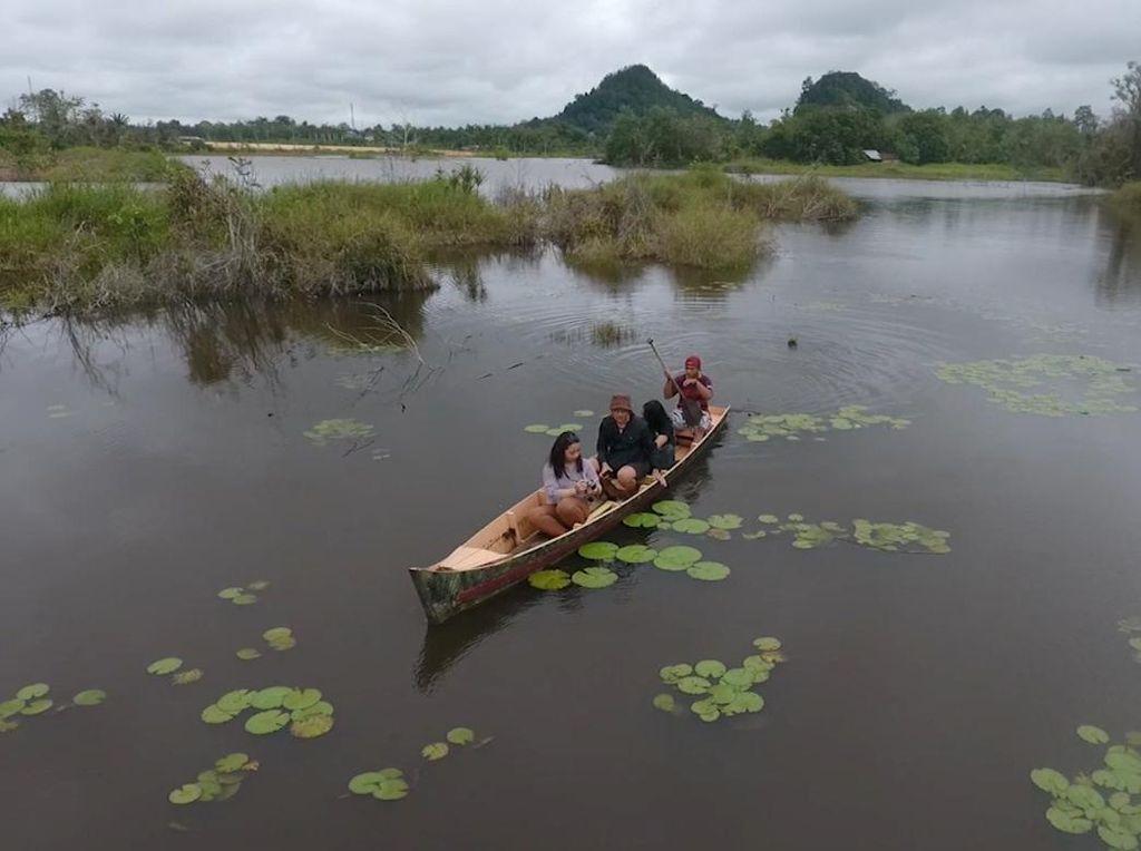 Danau Peninggalan Seorang Pangeran di Kalimantan