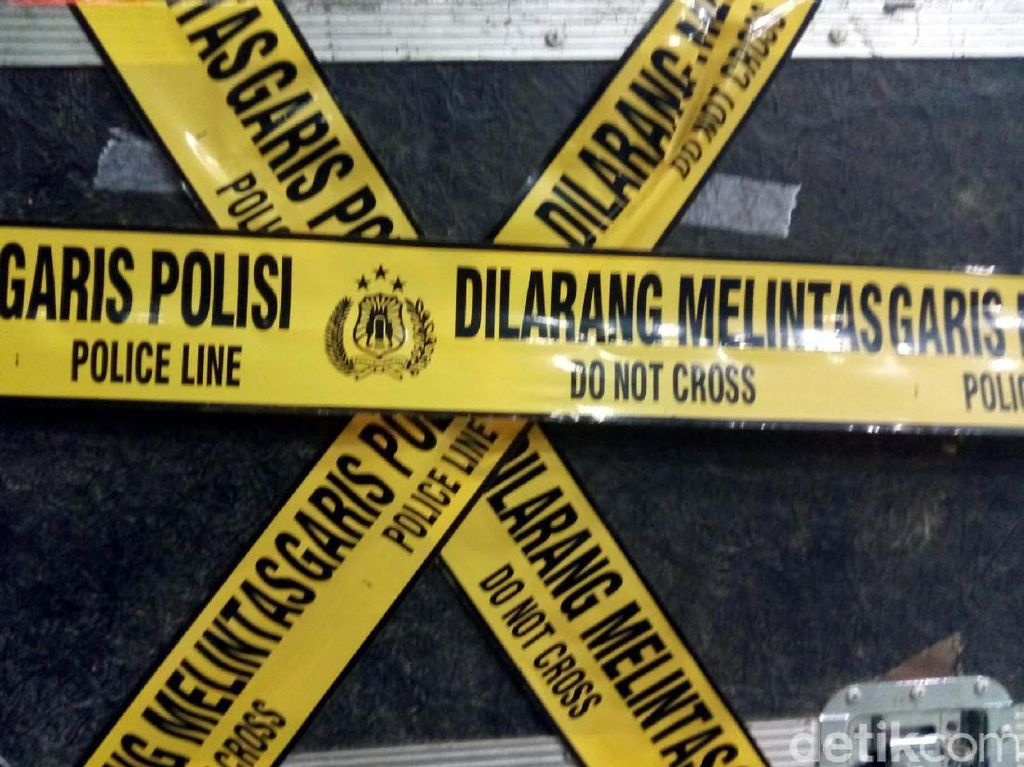 Polisi Olah TKP Kebakaran Lapas Perempuan Sigi