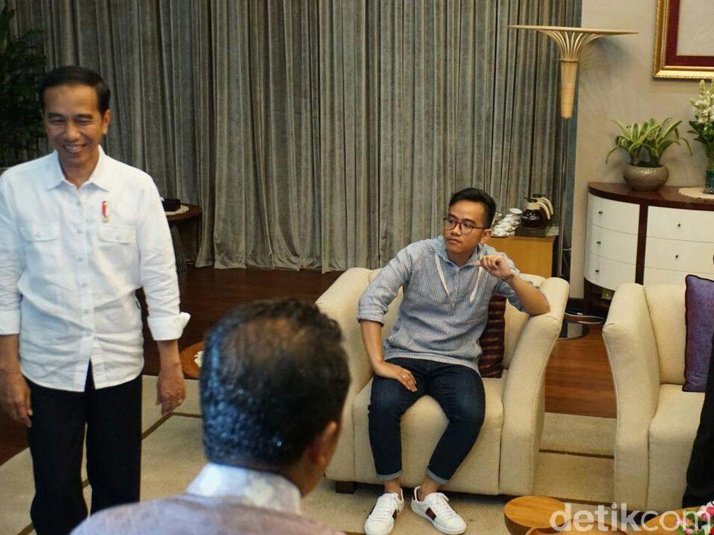 Dapat Salam dari SBY Lewat AHY, Jokowi: Waalaikumsalam