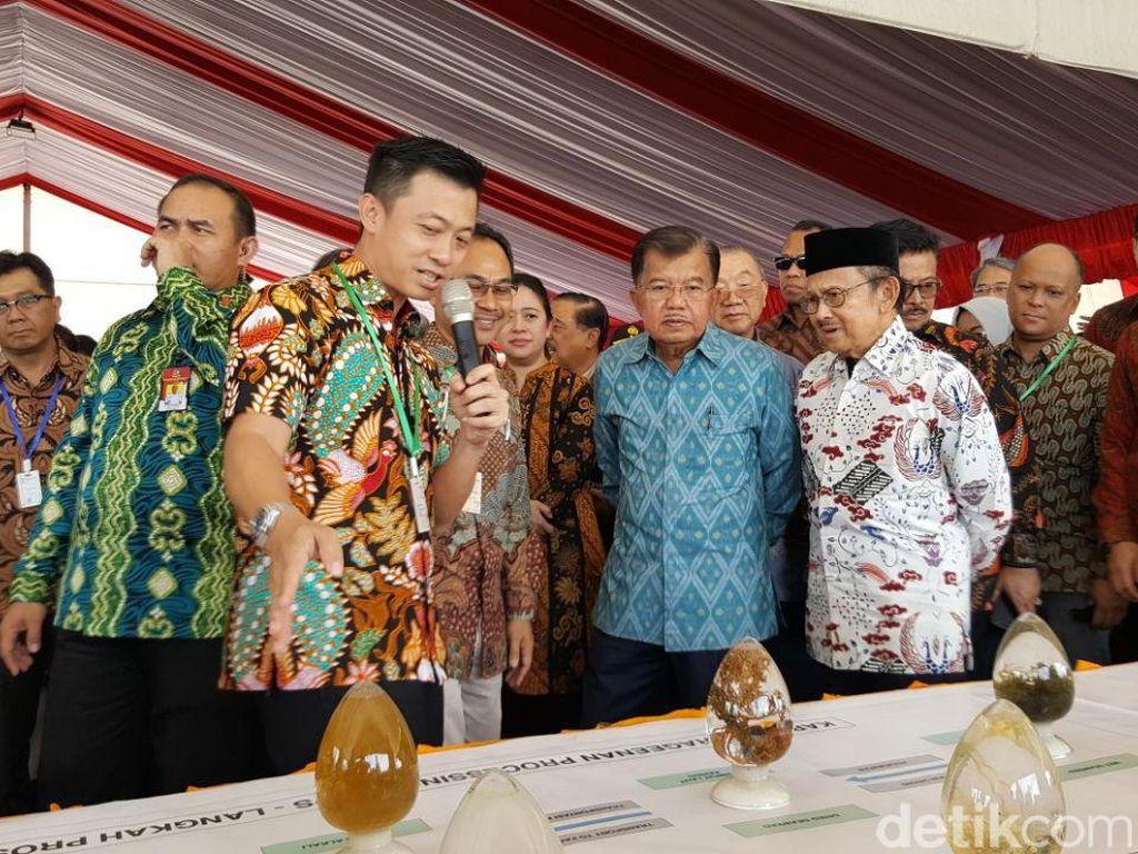 JK dan BJ Habibie Hadiri Puncak Hari Teknologi Nasional di Makassar