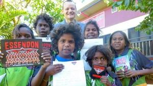 Surat Kerajaan Inggris Untuk Murid di Australia Utara