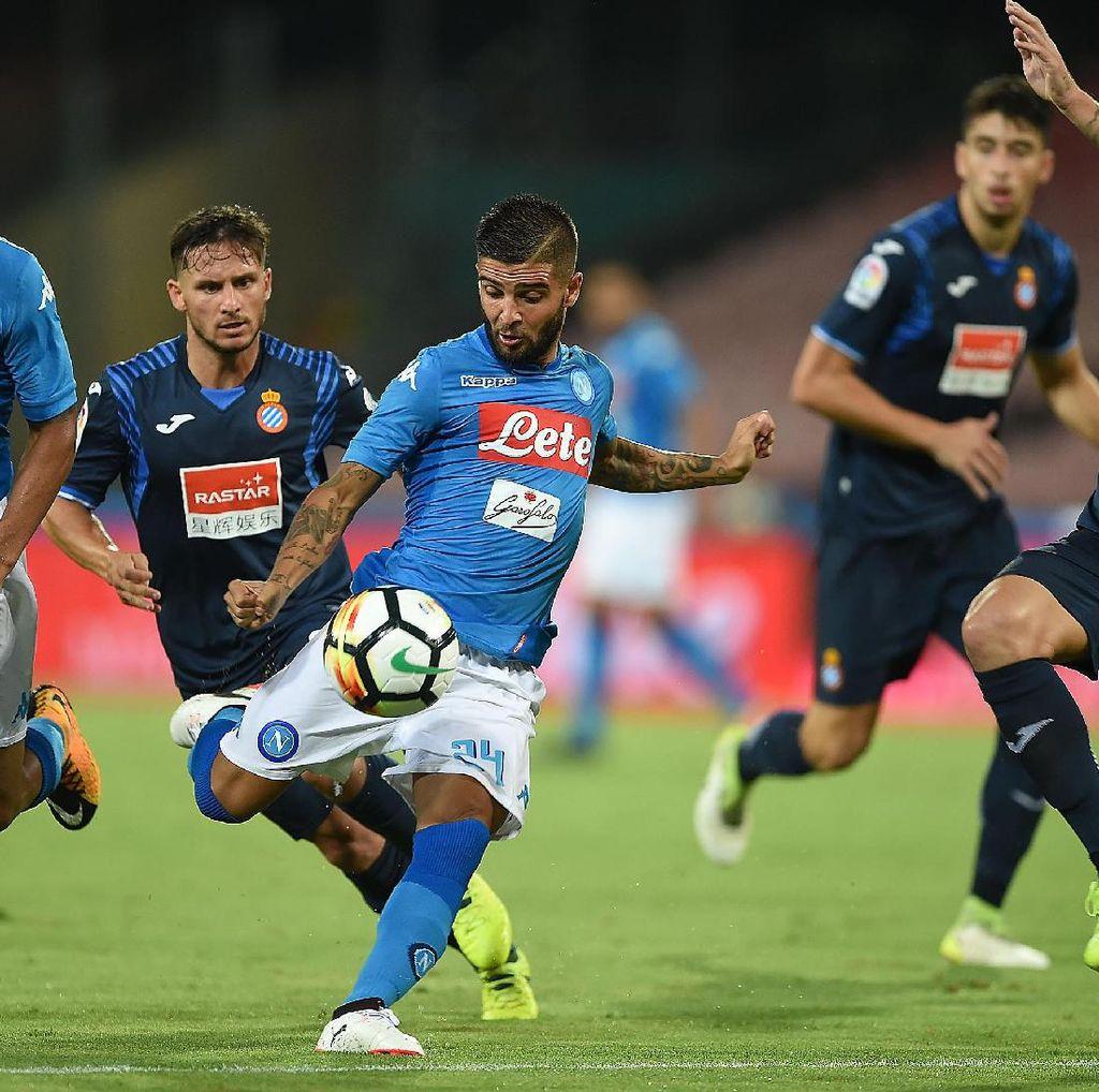 Napoli Tutup Pramusim dengan Kalahkan Espanyol 2-0