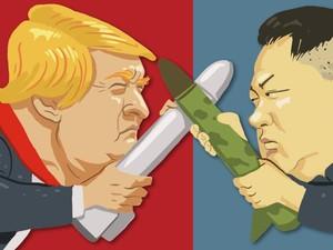 Minta Trump dan Korut Tahan Diri, China: Jangan Tuang Minyak ke Api