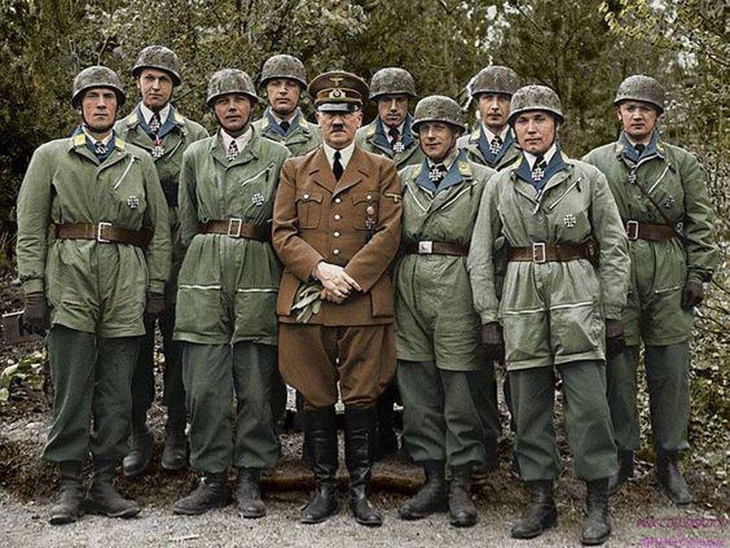 Saat Potret Perang Dunia II Menjadi Berwarna
