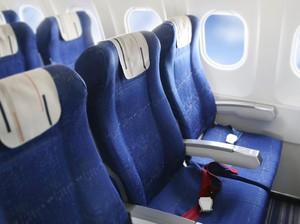 Ternyata,  Ini Alasan Kenapa Bangku Pesawat Berwarna Biru