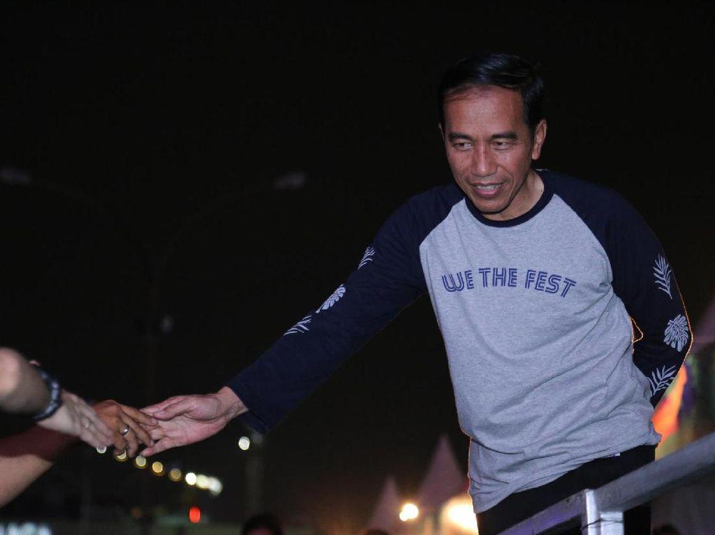 Bangganya Kodaline Ditonton Jokowi di We The Fest 2017