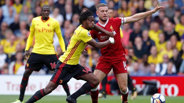 Watford Ungguli Liverpool 2-1 di Babak Pertama