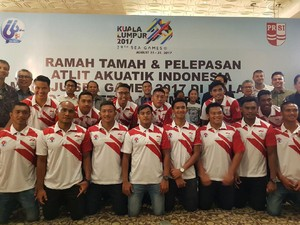 Jelang SEA Games, Timnas Polo Air Putra Asah Kekompakan