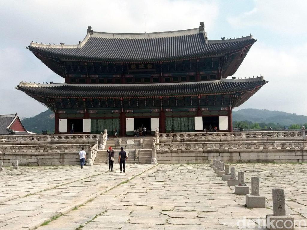 Foto: Istana Tempat Syuting Drama Korea Ternama