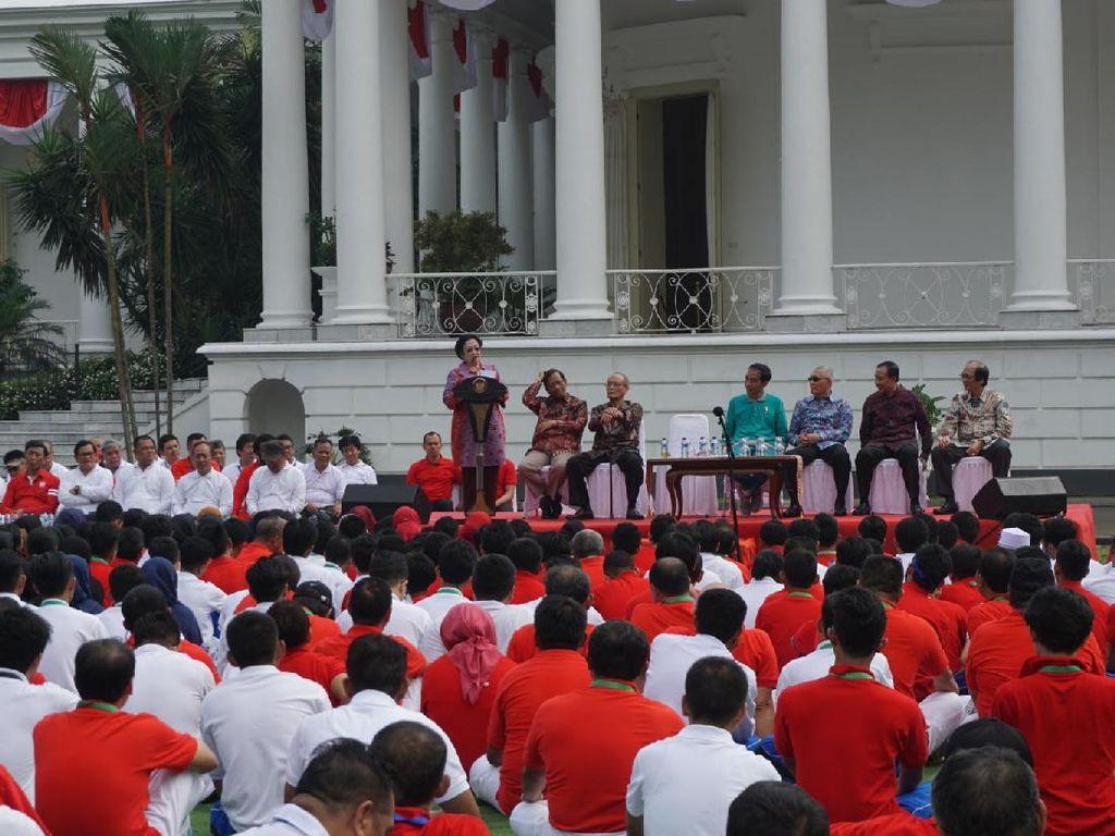 Megawati: Pak Jokowi Dibilang Diktator, Sanggup Buktikan?