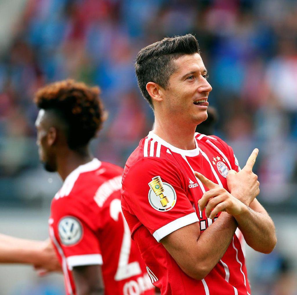 Gasak Klub Divisi Tiga, Bayern Lewati Babak Pertama