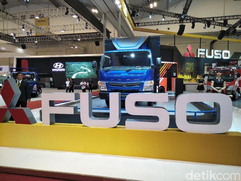 Mitsubishi Fuso Belum Lihat Peluang Truk Listrik di RI