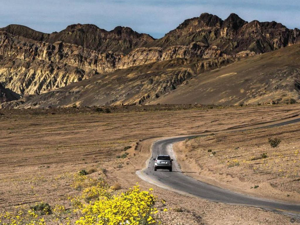 7 Fakta Mencengangkan Lembah Kematian, Tempat Terpanas di Bumi