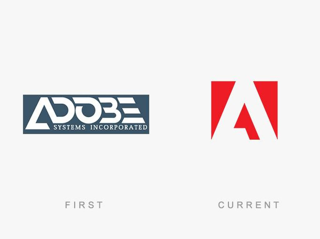 Evolusi Logo Raksasa Teknologi Dunia