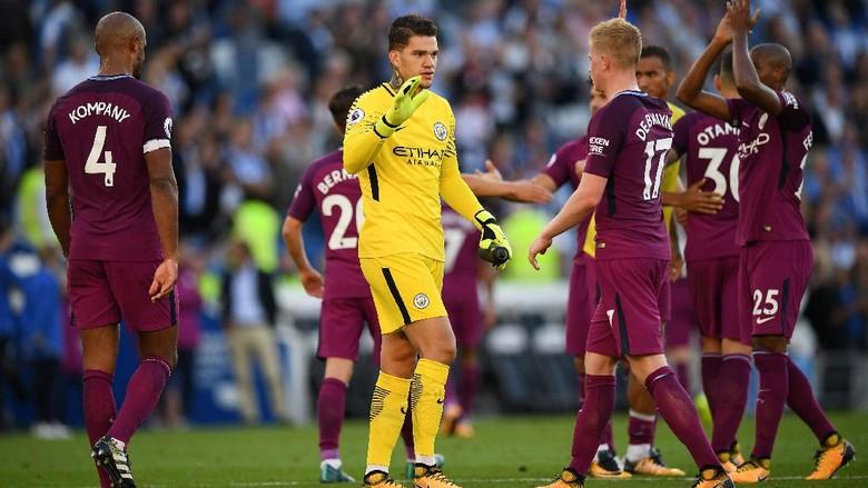 Sebelum Kalahkan Brighton, City Sempat Bahas Terpelesetnya Liverpool dan Chelsea