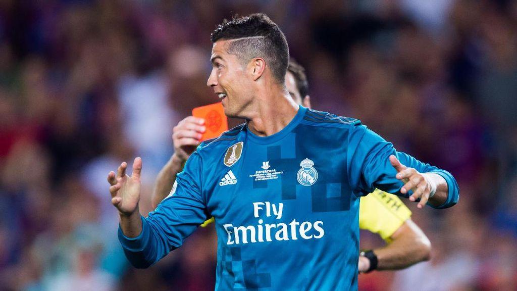 Zidane: Kartu Merah Ronaldo Sedikit Kejam