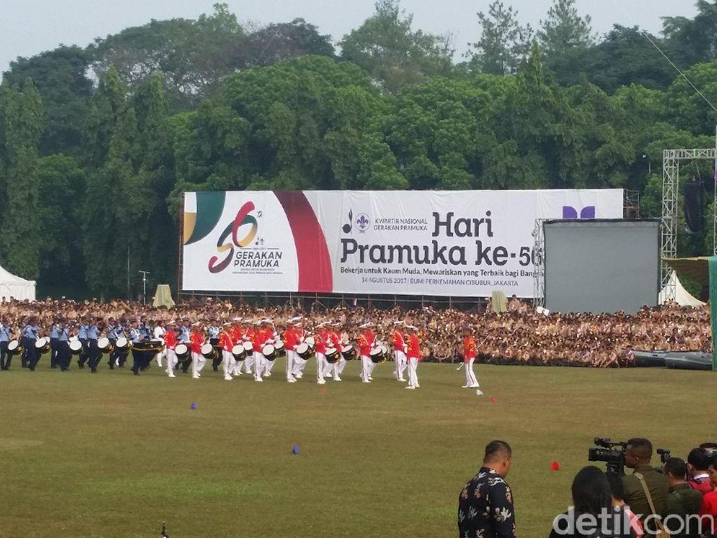Presiden Jokowi Buka Raimuna Nasional XI di Cibubur