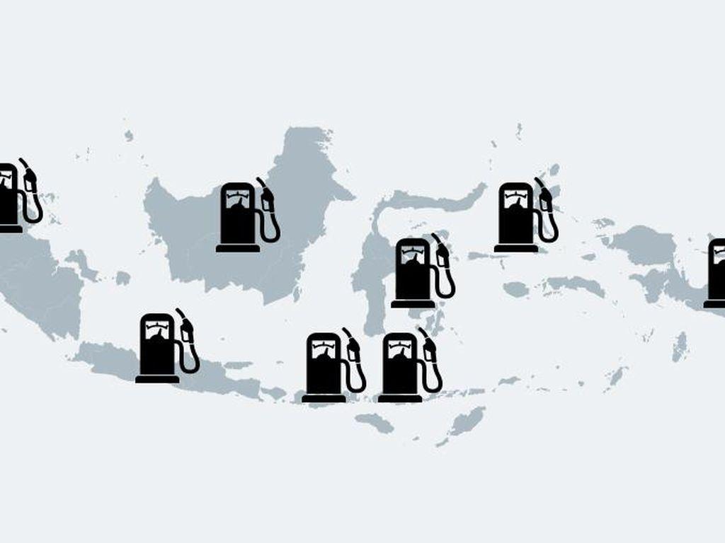 Begini Perjuangan Pertamina Pasok BBM Satu Harga ke Daerah Terpencil