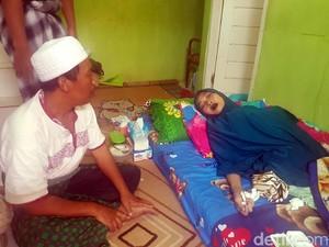 Kisah Pilu Guru Ngaji di Sukabumi Idap Kanker Payudara