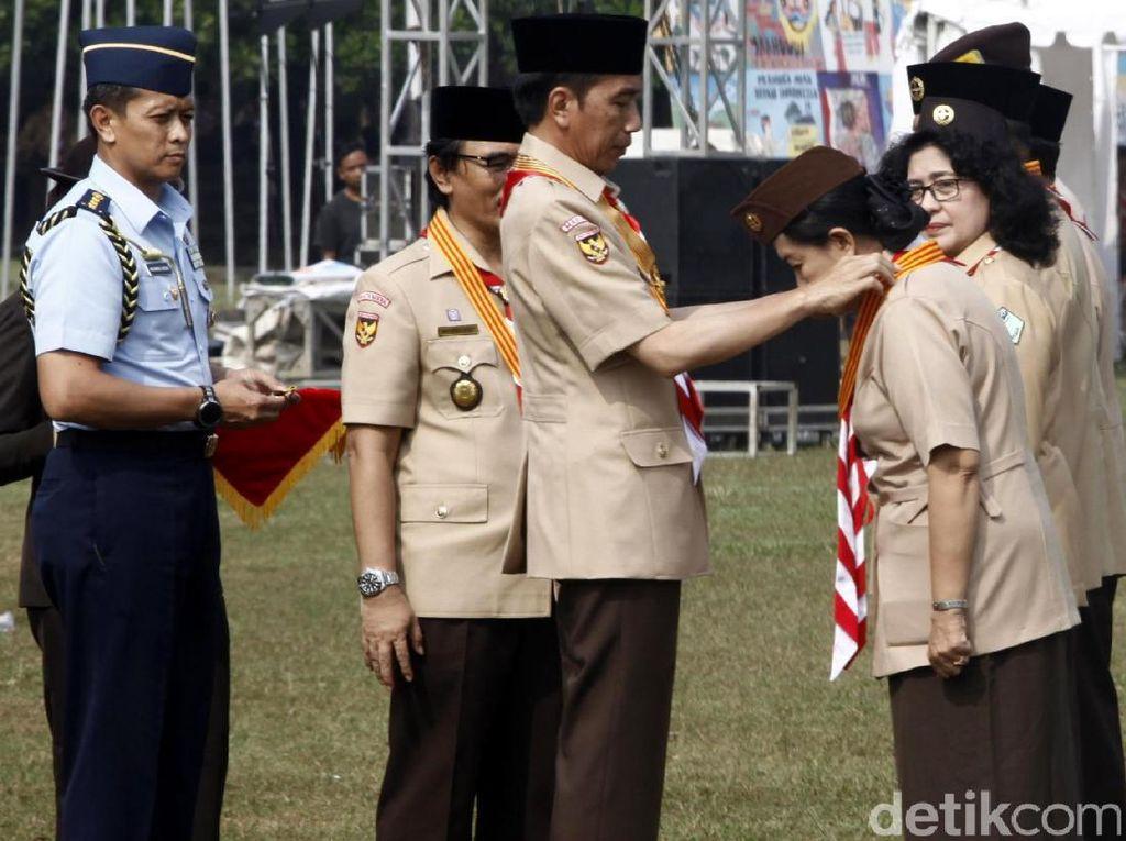 Jokowi Buka Raimuna Nasional IX