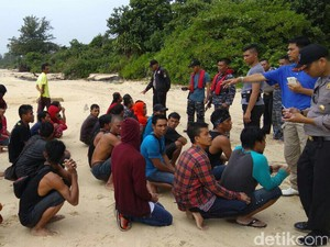 27 TKI Ilegal dari Malaysia Ditangkap Imigrasi di Bintan Kepri