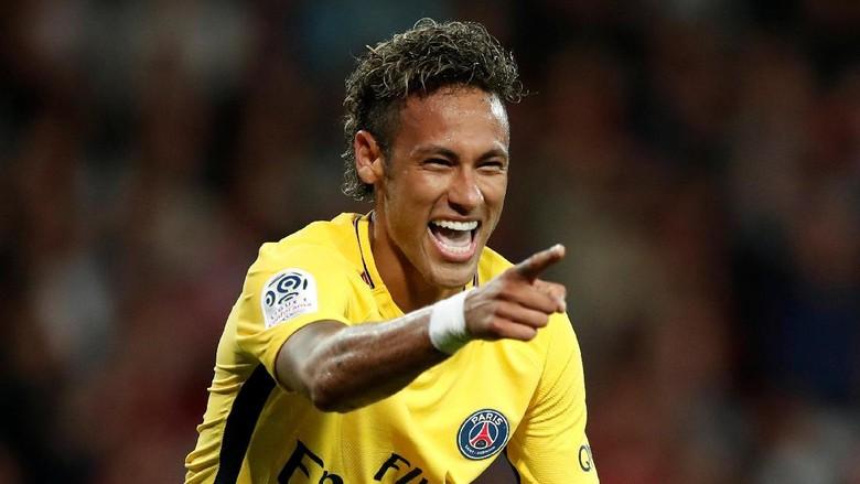 Neymar Tandai Debut di PSG dengan Gol dan Assist