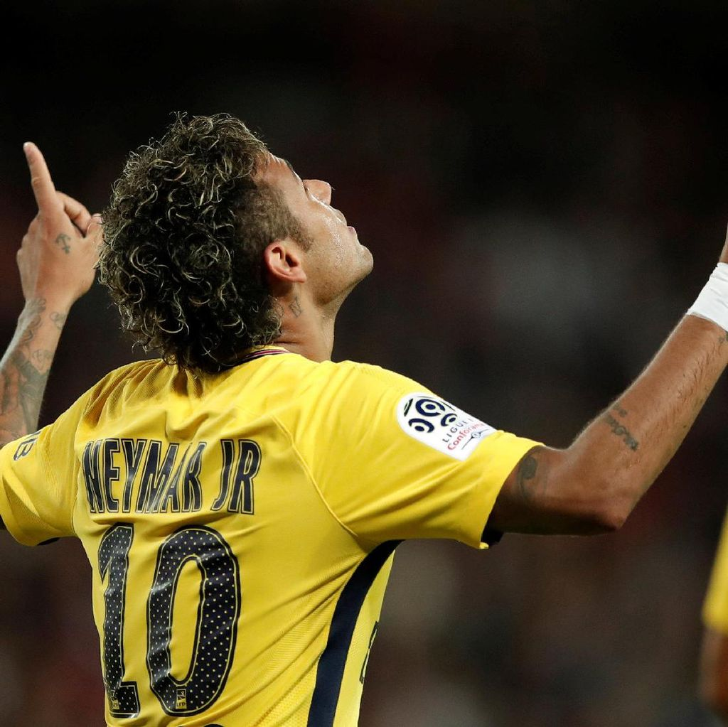 Neymar Merasa Lebih Hidup di PSG
