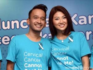 Amanat Jupe, Ruben Onsu Pilih Jadi Duta Cegah Kanker Serviks