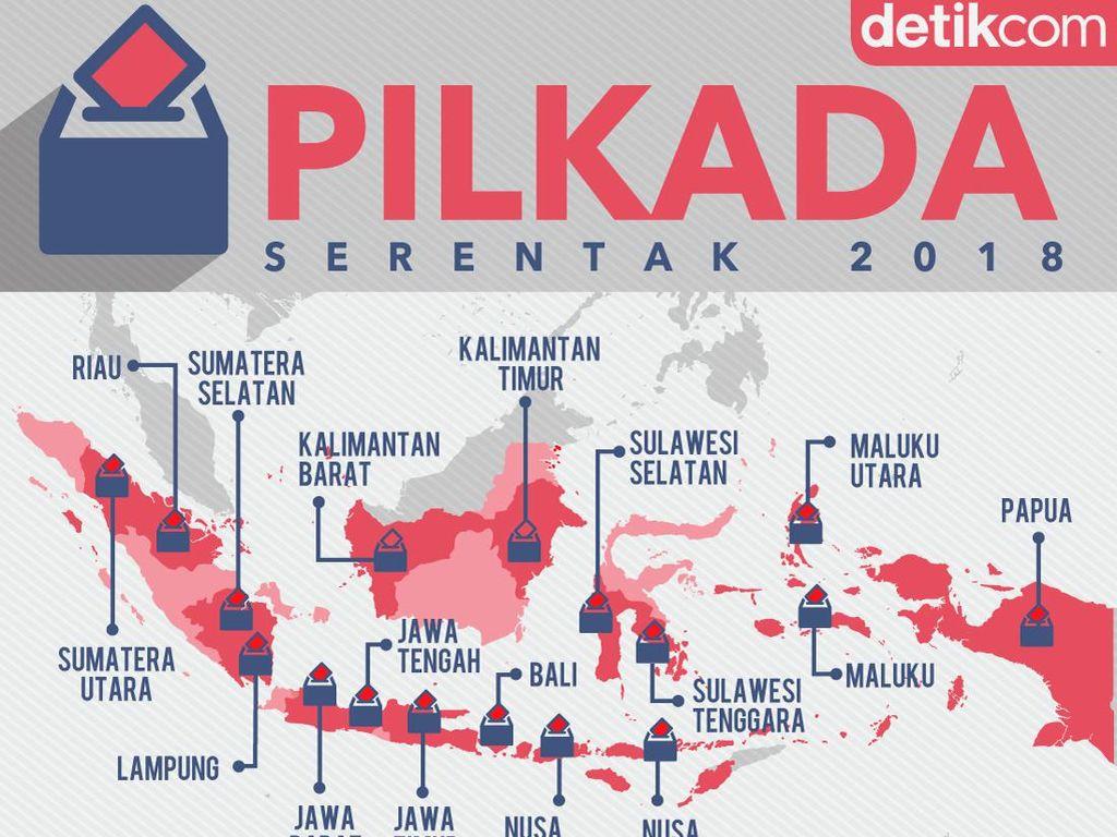 Ada 3 Calon Tunggal di Pilkada Banten