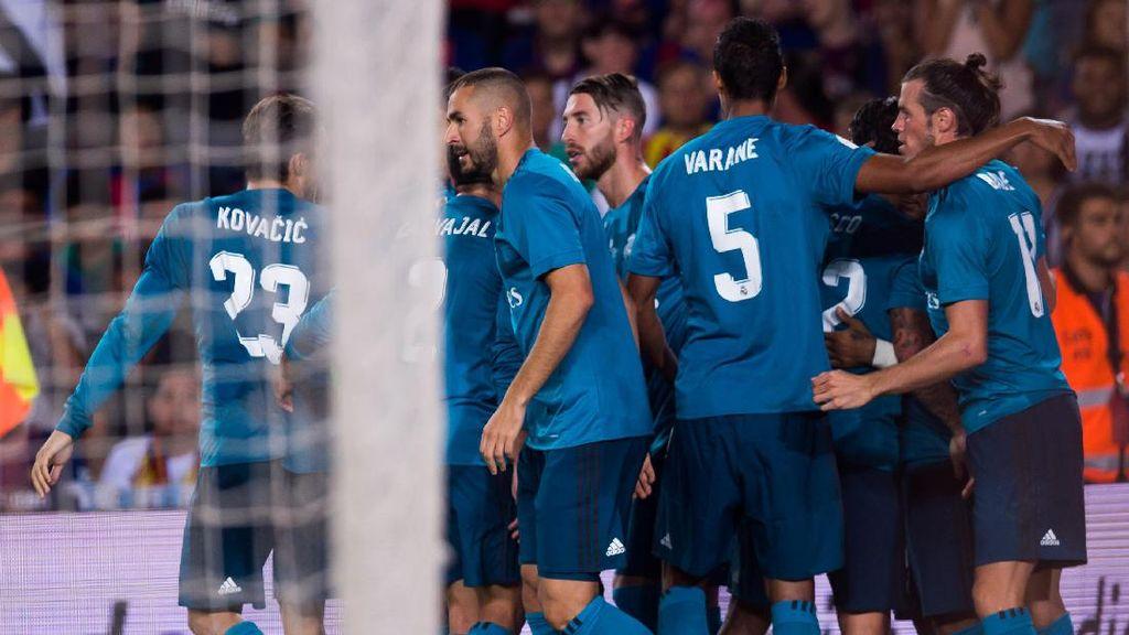 Madrid Bekap Barca, Zidane: Pertarungan Belum Selesai
