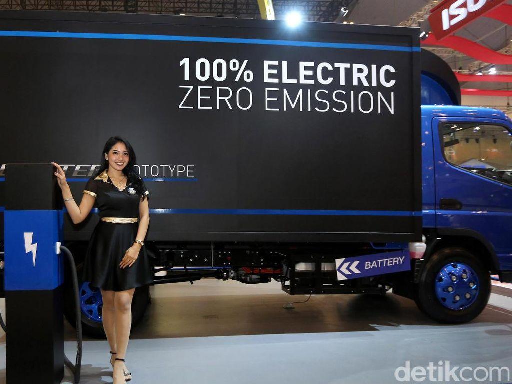 Mitsubishi Berharap Luncurkan Truk Listrik Fuso eCanter di Indonesia, Tapi...