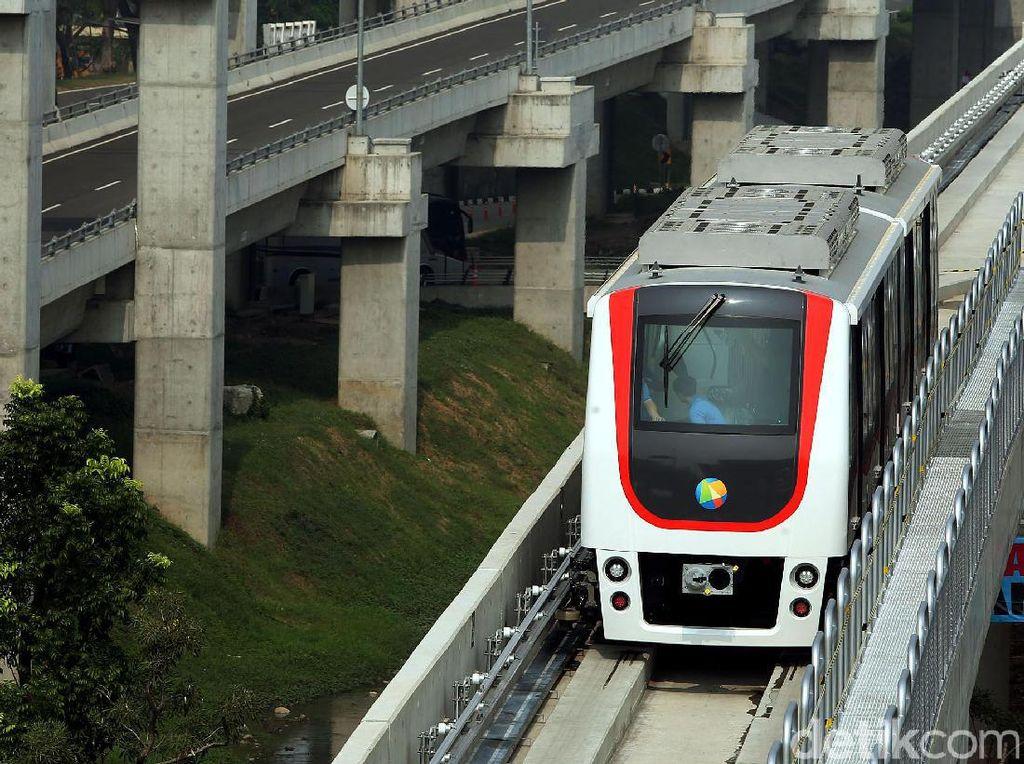 Skytrain Bandara Soekarno-Hatta Terminal 1 dan 2 Mulai Uji Coba