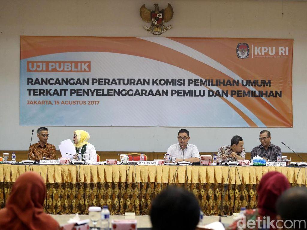 KPU Gelar Uji Publik Rancangan Peraturan Pemilu