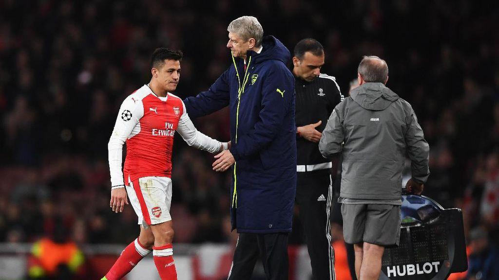 Wenger Senang Sanchez dan Chamberlain Tak seperti Coutinho