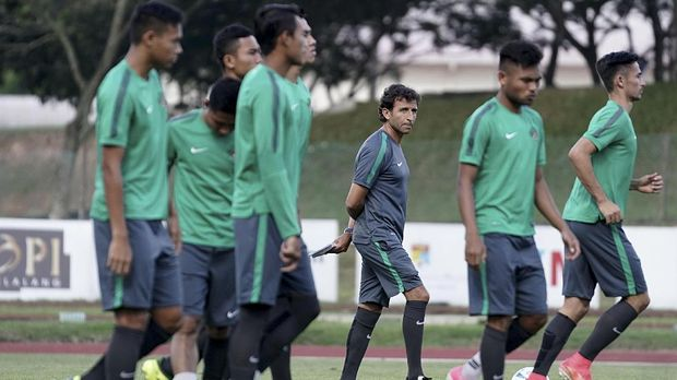 Luis Milla sudah mendapatkan susunan pemain terbaik di Timnas Indonesia U-22.