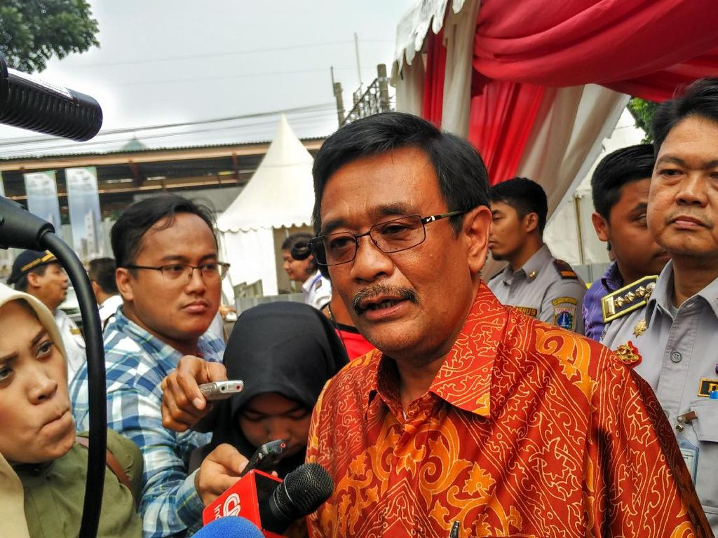 Djarot Sebut Penataan Trotoar Sudirman-Thamrin Tak Bikin Macet