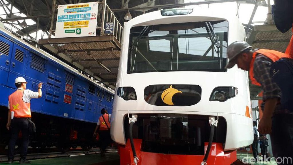 Foto: Ini Lho Kereta Bandara Soekarno-Hatta