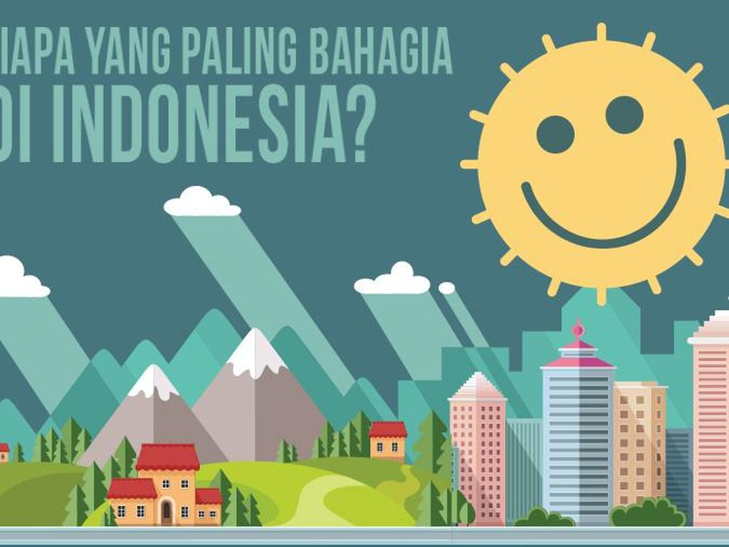 Siapa Paling Bahagia di Indonesia?