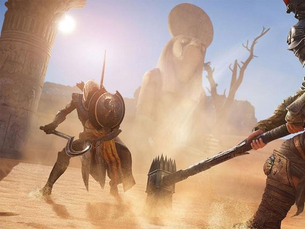 Ubisoft Pamer Trailer Terbaru Assassins Creed: Origins, Seperti Apa?