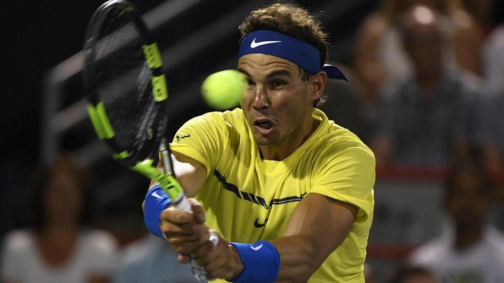 Federer Absen di Cincinnati, Nadal Dipastikan Kembali ke Peringkat Satu Dunia