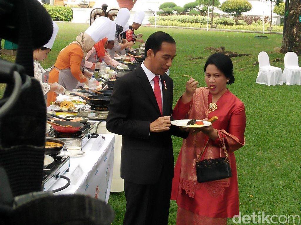 Menu Masakan Favorit Para Ibu Negara, dari Ibu Tien hingga Iriana Jokowi