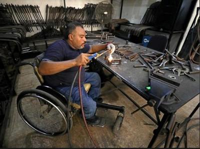 Foto: Organ Prostetik Buatan Penyandang Disabilitas di Mesir