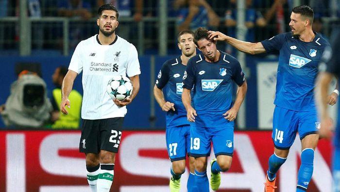 Hoffenheim dikalahkan Liverpool 1-2 (Foto: Ralph Orlowski/REUTERS)