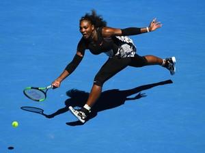 Serena Usung Misi <i>Comeback</i> di Australia Terbuka 2018
