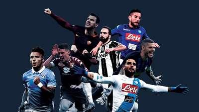 Top Skorer Serie A Musim Ini: Dzeko, Higuain, Belotti, Icardi, atau Pemain Lain?