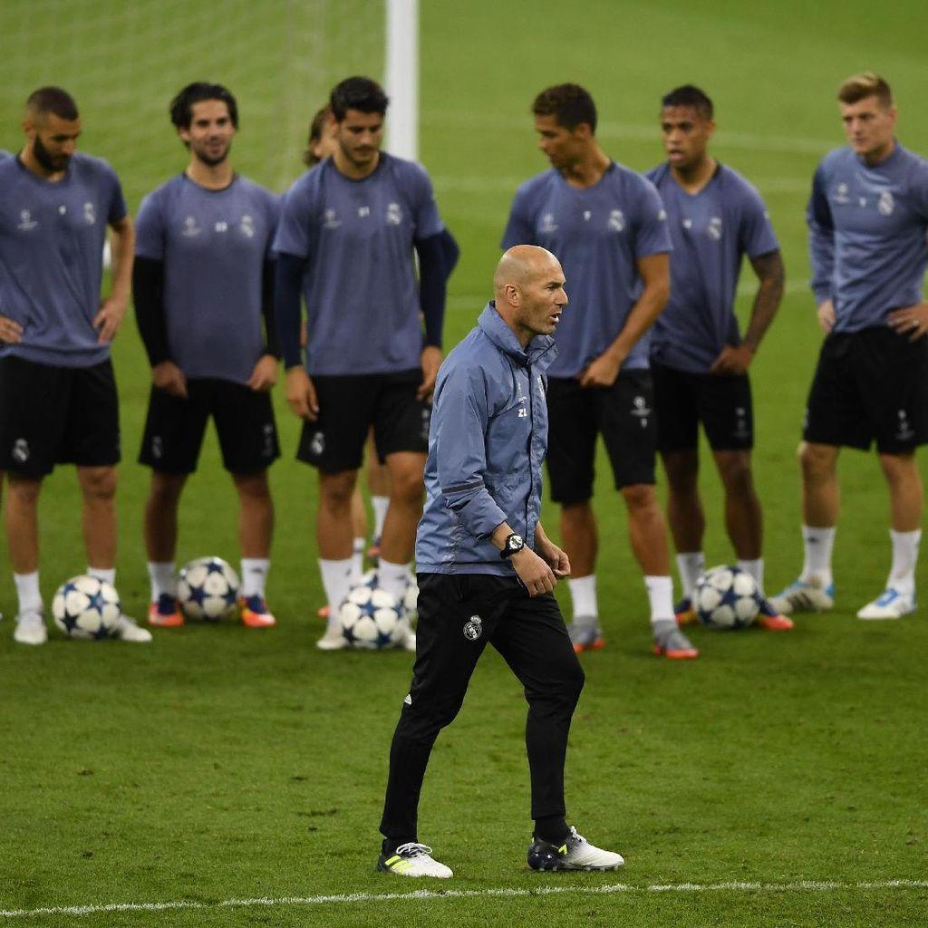 Madrid yang Langsung Panas di Laga Resmi Bikin Zidane Girang