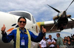 Foto: Top! Ini Pilot Wanita yang Sukses Uji Terbang N219