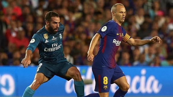 Cedera, Iniesta Absen Lawan Madrid