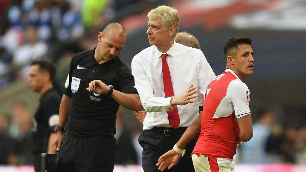 Wenger: Belum Ada Kemajuan Soal Kontrak Alexis Sanchez