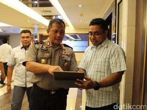 Cerita di Balik Pengangkatan Polisi Asal Papua Ajudan Jokowi